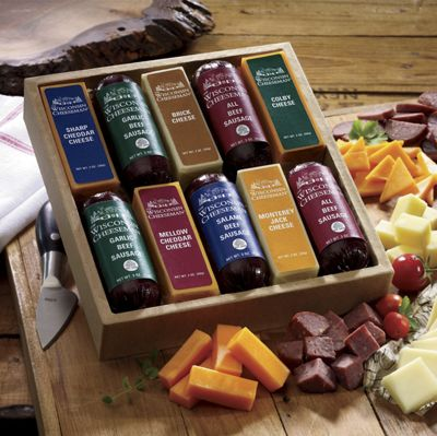 Taste Tempting 10 Cheese & Sausage Gift Assortment