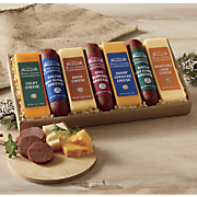 Cheese And Sausage Gift Combo