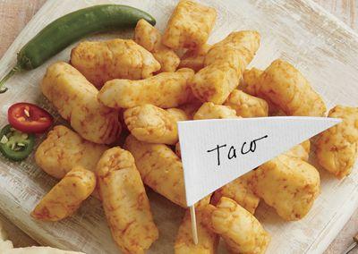 Taco Cheese Curds
