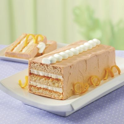 Orange Dreamsicle Torte