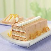 orange dreamsicle torte