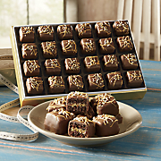 German Chocolate Petits Fours WC