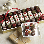 Merry Christmas Petits Fours WC