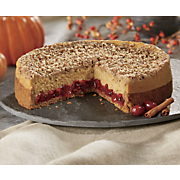 pumpkin cranberry cheesecake 10