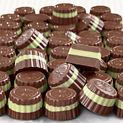 Chocolate Layered Mints