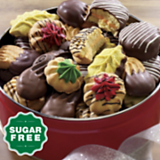 Sugar-Free Old-Fashioned Cookies Gift Tin