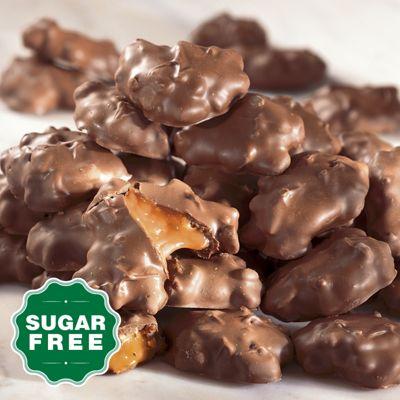 Sugar-Free Caramel Pecan Clusters