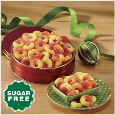 Sugar-Free Gummy Peach Rings