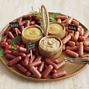 snack bits trio with mustards