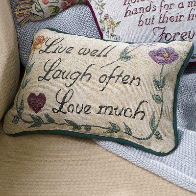 Sentiment Love Much Pillow