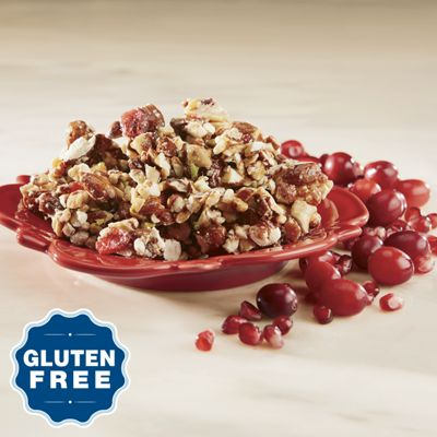 Gluten Free Cranberry Pomegranate Crunch