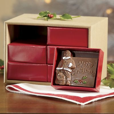Chocolate Santa Card Gift Assortment