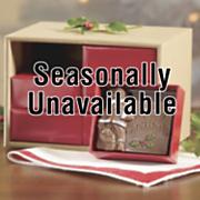 Chocolate Santa Card