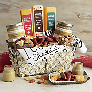basket of snacks