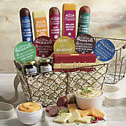 snacks to go basket