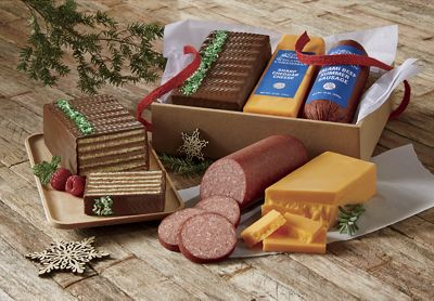 Beef, Cheddar & Dobosh Gift Trio