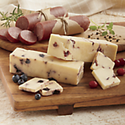 sausage   fruity cheeses