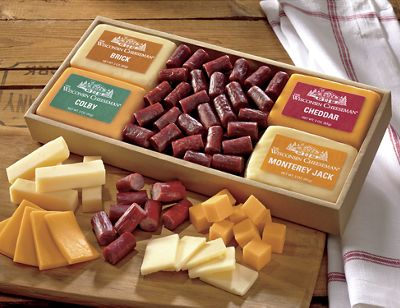 The Little Nibbler Cheese & Sausage Gift Assortment