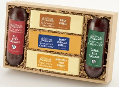 Cheese & Sausage Gift Box