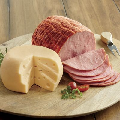 Spiral-Sliced Ham & Swiss Cheese Gift Assortment