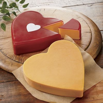 Cheddar Cheese Heart