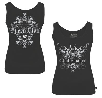 Clint Bowyer #15 Ladies Speed Diva Tank