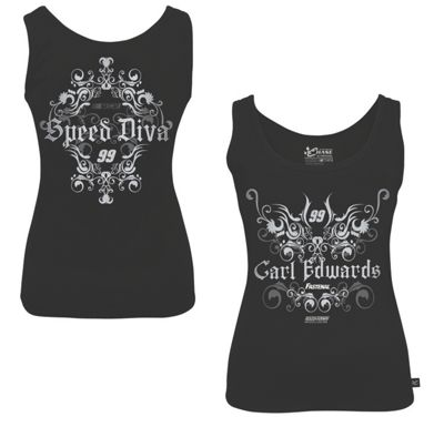 Carl Edwards #99 Ladies Speed Diva Tank