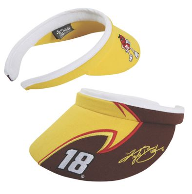 Kyle Busch #18 Ladies Side Draft Slide On Visor