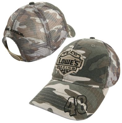 Jimmie Johnson #48 Salute Camo Hat