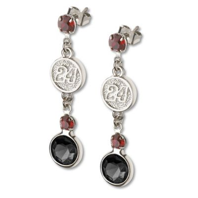 Jeff Gordon #24 Crystal Earrings