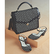 Alex Polka-Dot Bag and Shoe