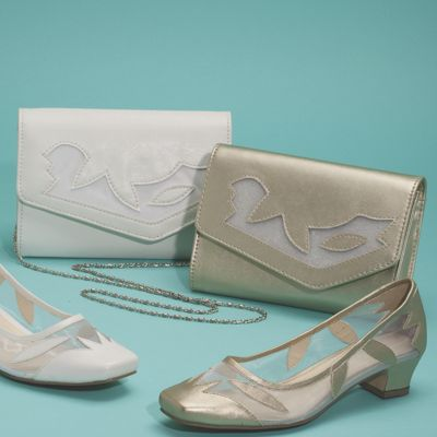 Maple Mesh Shoe and Clutch