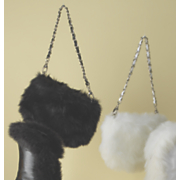 Faux Fur Trim Bag