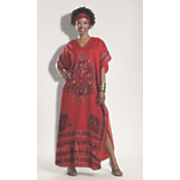 red tiger caftan