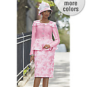 lanai skirt suit and barbie hat