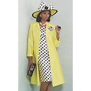 Rozlyn Jacket Dress and Hat