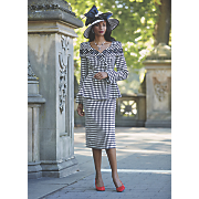 Debra Hat and Skirt Suit