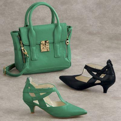 Esmeralda Bag and Shoe