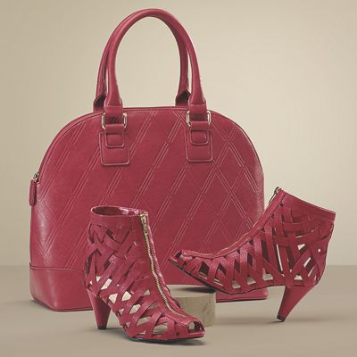 Serrato Bag and Cage Shoe