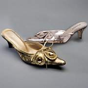 Pearlized Bow Mule