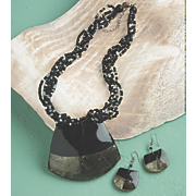 Mudcloth Necklace Set
