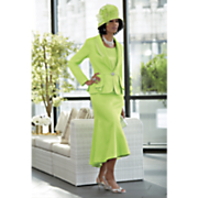 Key Largo Hat and Xioma Skirt Suit