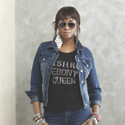 Ashro Ebony Queen T-Shirt
