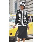 Elizabeth Hat and Beri Skirt Suit