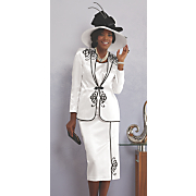 Dolores 3 Piece Skirt Suit