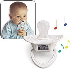 Musical Pacifier Thermometer