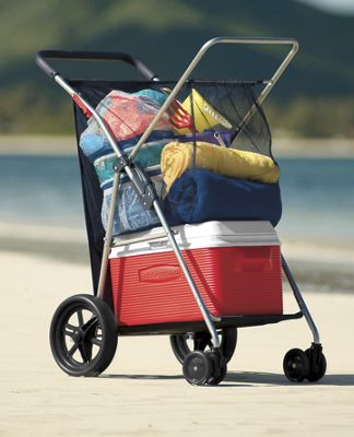 Wonder Wheeler Deluxe Beach Cart