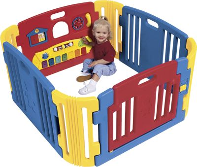Little Playzone with Lights & Sounds Play Yard