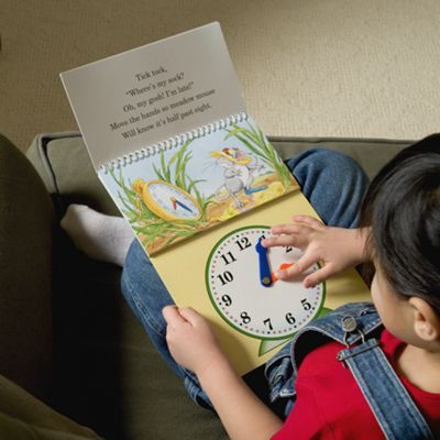 Big Hand, Little Hand: Learn to Tell Time Children's Book