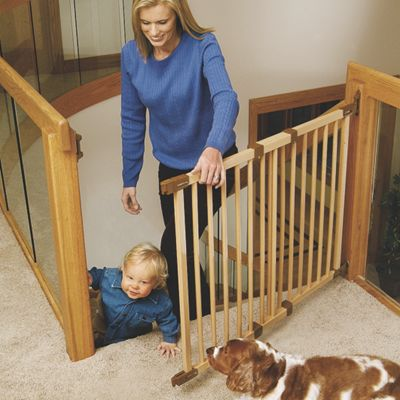 Angle-Mount Safeway Safety Gate (Wood)